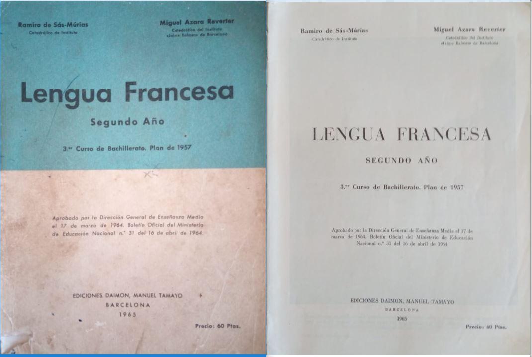 Francés 2º (Plan 1957)