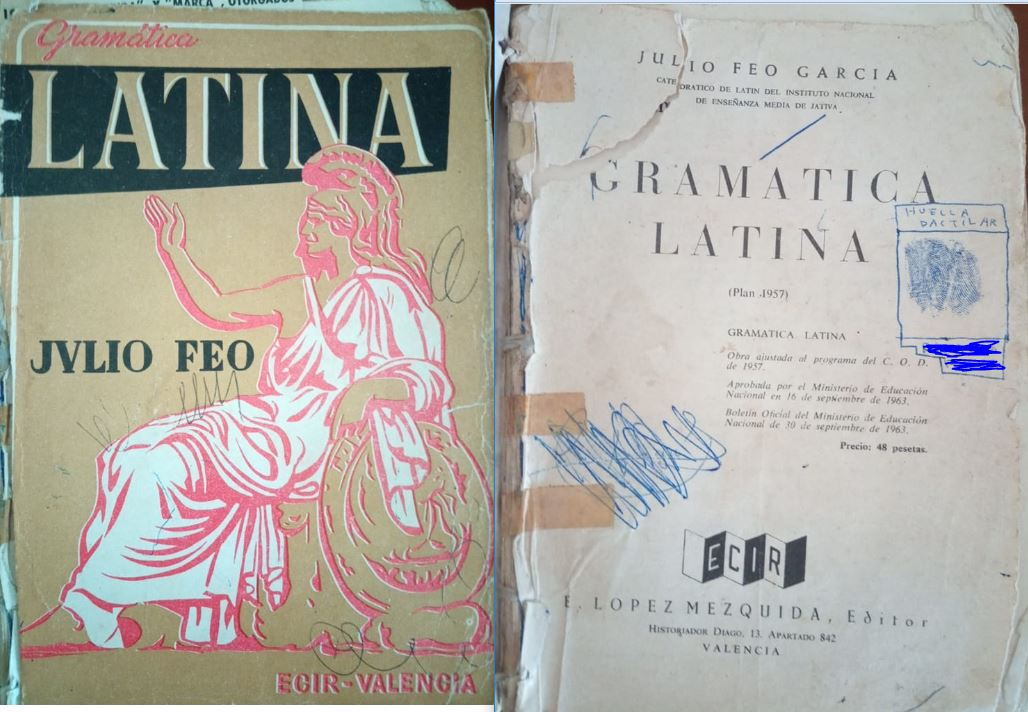 Latín 2º (Plan 1957)