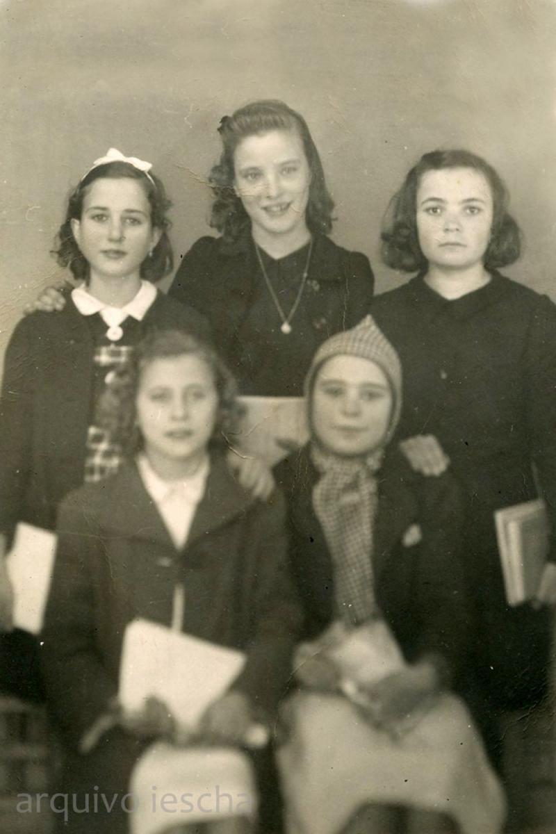 15/11/1942 - Alumnas de primeiro ano