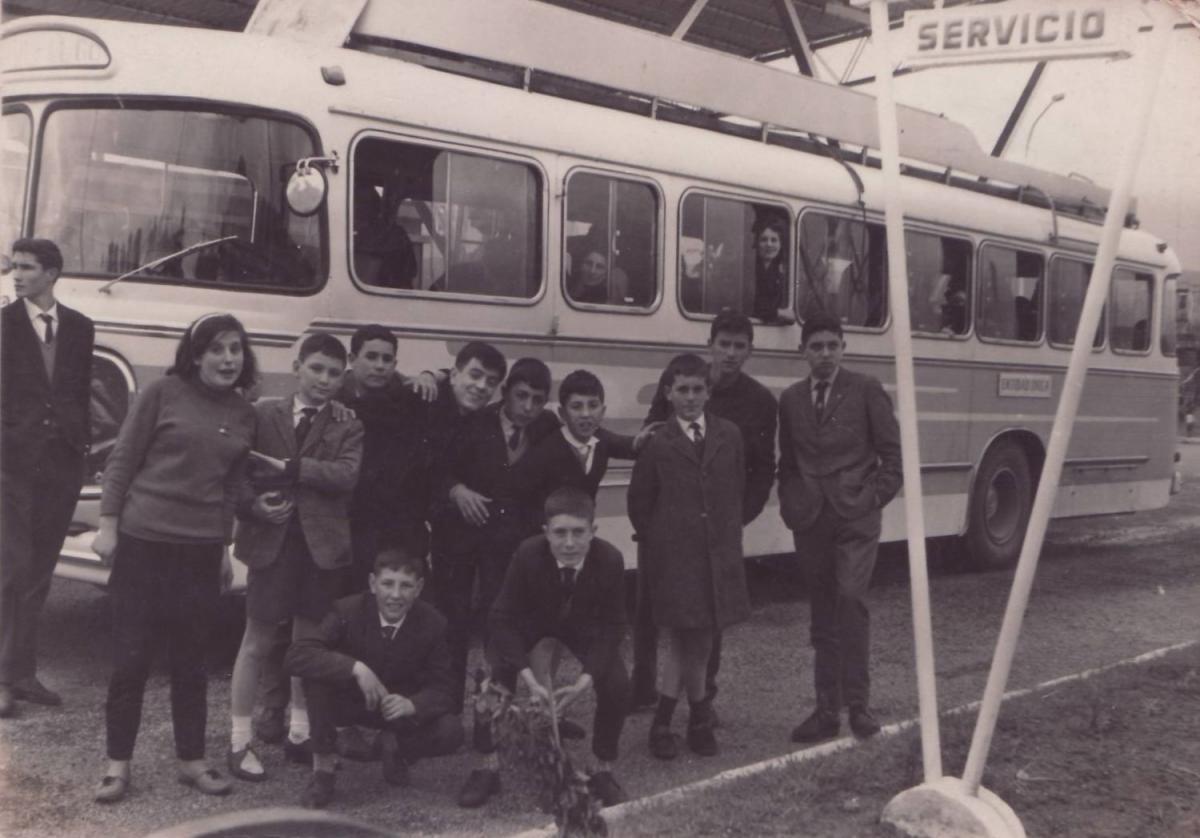 Excursión 1964 - Ponteareas