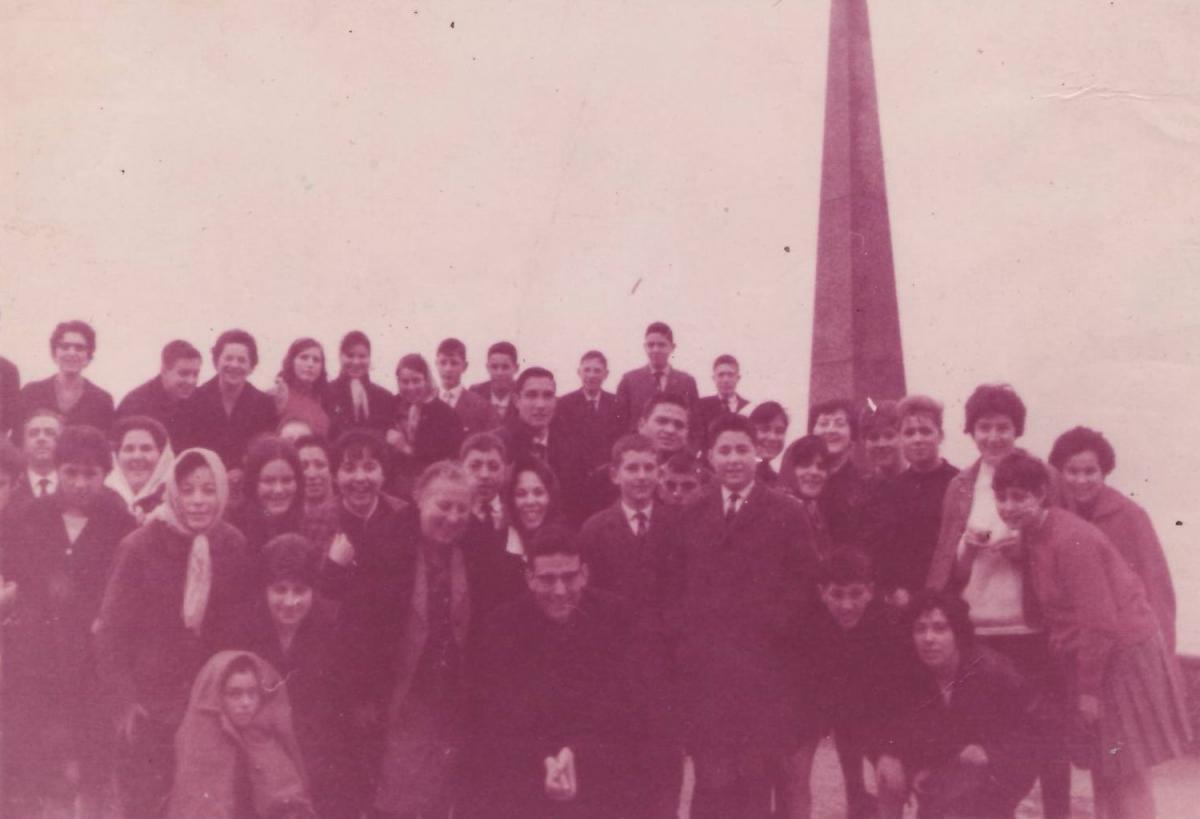 Excursión 1964 - O Castro (Vigo)